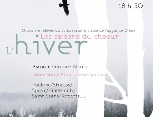 """Concert d""""Hiver"""" par les choeurs du Conservatoire"""