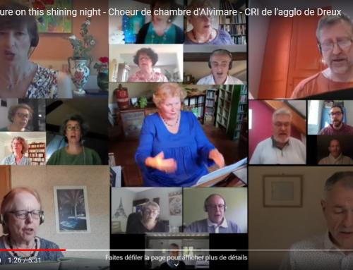 """Le Choeur d'Alvimare """"en chante"""" Internet"""