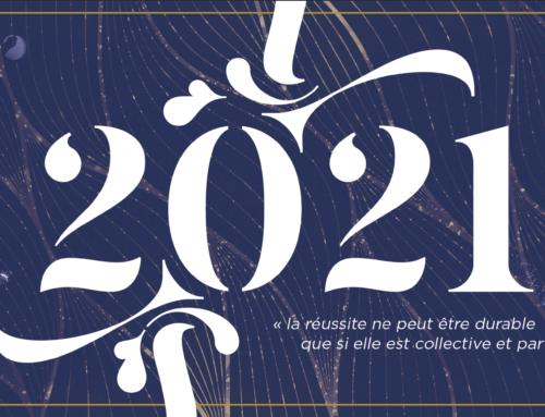L'équipe du Conservatoire vous souhaite une bonne année 2021